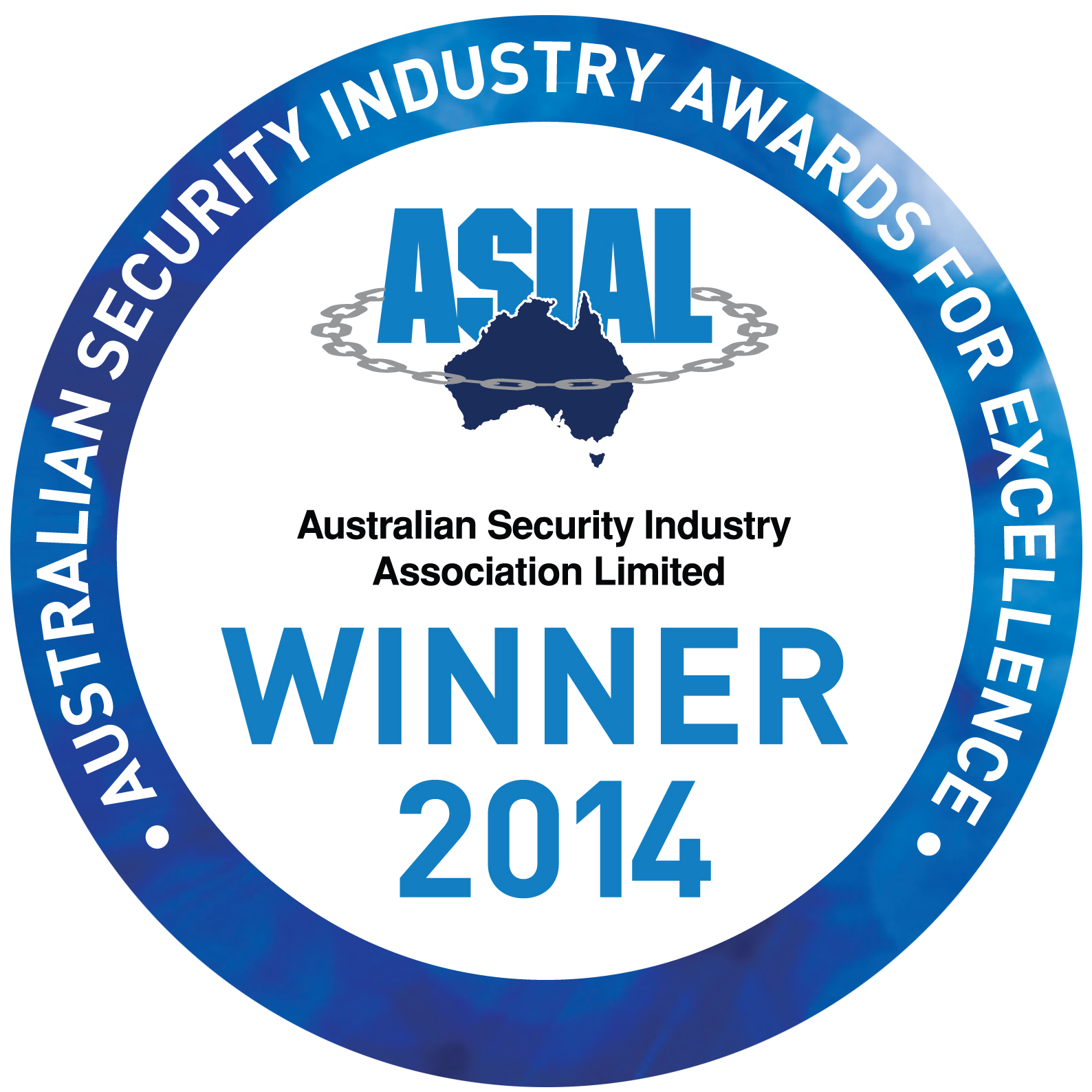 Charter Security Awards for Excellence Winner Logo 2014